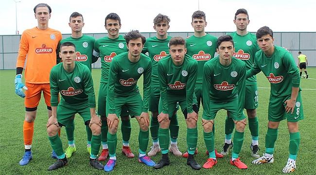Çaykur Rizespor U16'nın sezon karnesi