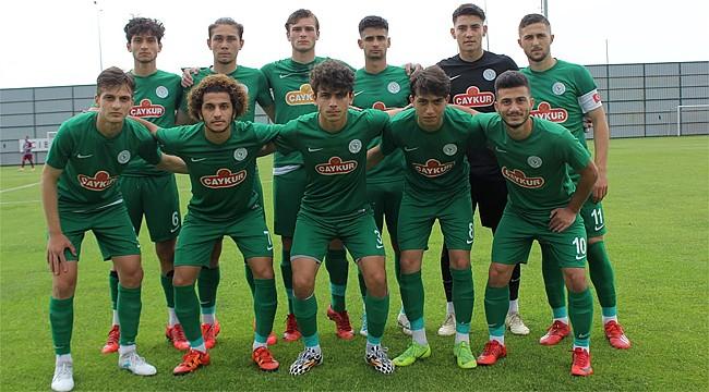 Çaykur Rizespor U21'in sezon karnesi