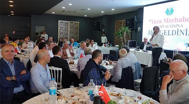 İstanbul'daki Rizeliler'den 'Yaza Merhaba' kahvaltısı