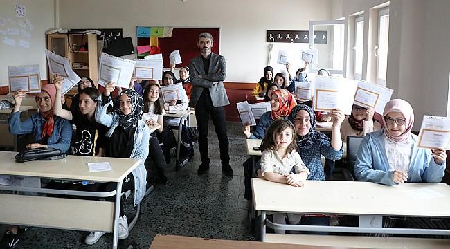 Rize'de 58 bin 20 öğrenci karne aldı