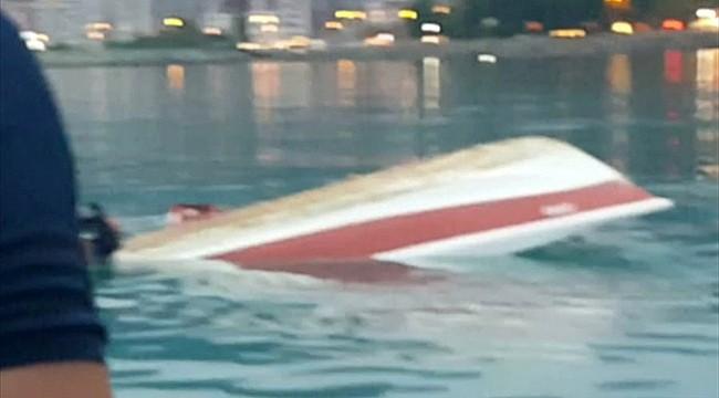 Rize'de balıkçı teknesi alabora oldu: 4 kişi kurtarıldı