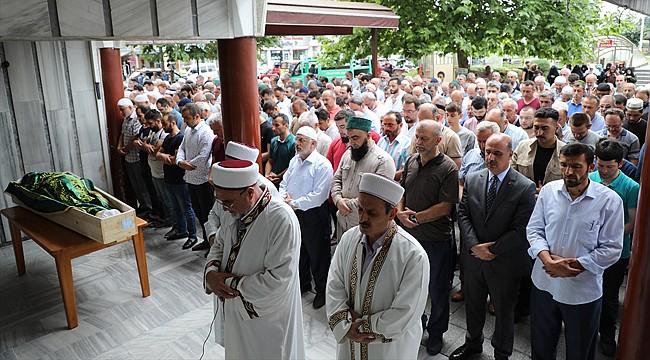 Rize'de Mursi için gıyabi cenaze namazı kılındı