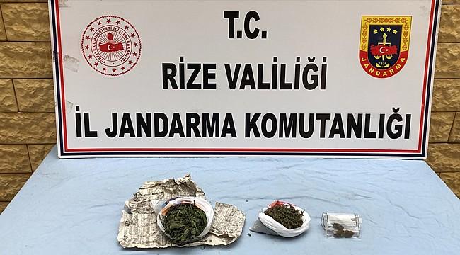 Rize'de uyuşturucu ile mücadele hız kesmiyor
