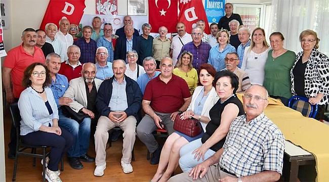 Rizeli Gazeteci Ömer Şan, DİSK Emekli-Sen Çankaya yönetiminde