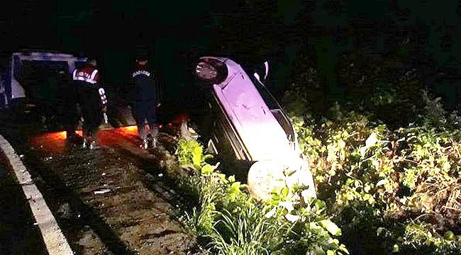 Ayder Yaylası yolunda kaza: 1 ölü, 2 yaralı