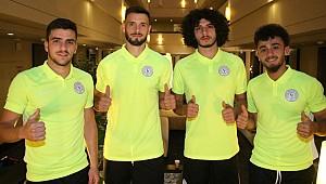 Fenerbahçe'den alınan oyuncular kampa katıldı