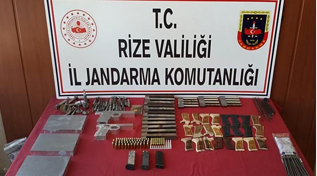 Rize'de bir ayda 608 kişi yakalandı: 75 kişi tutuklandı