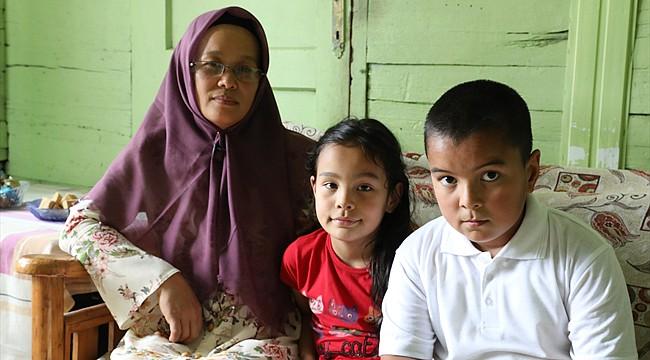 Rize'de yaşayan Filipinli gelin, memleket özlemi çekiyor