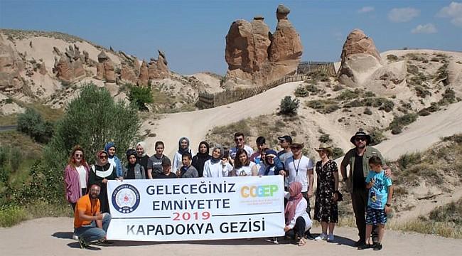 Rize Emniyeti, 20 genci Kapadokya'ya götürdü