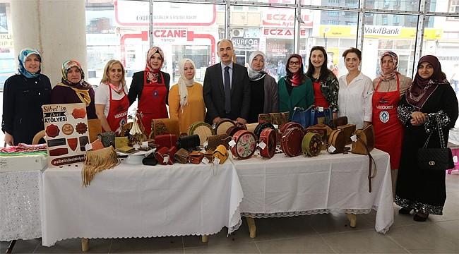 Rizeli kadınların El Emeği Göz Nuru Çarşısı açıldı