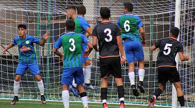 Çaykur Rizespor U17 denedi ama olmadı: 2-3