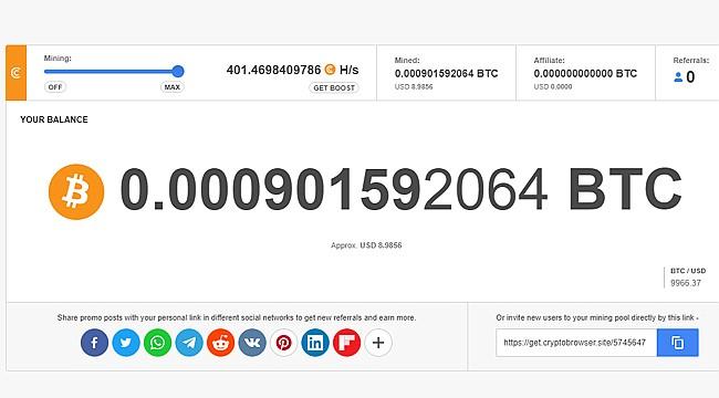 İnternet üzerinden Bitcoin kazanmak mümkün