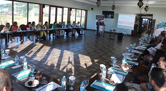Rize'de Ulusal Bilgilendirme Günü Çoğaltıcı Etkinliği