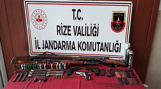 Rize Jandarması 1 haftada 53 kişiyi yakaladı