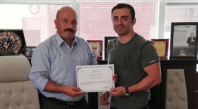 Rize'nin başarılı doktorlarından Evren Akmut Aydın'a tayin oldu