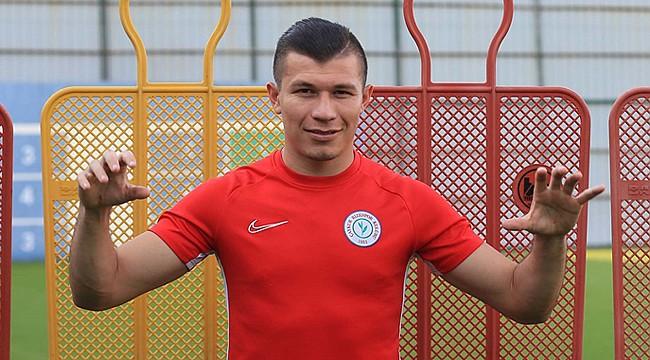 Samudio: 'Hem asistlerim iyi olsun, hem de fazla gol atayım'