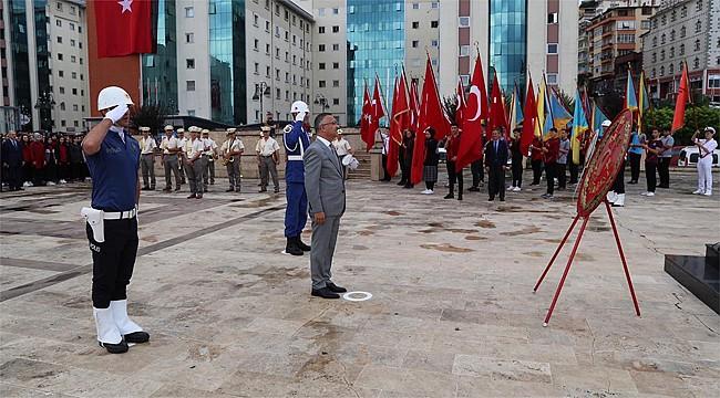 Atatürk'ün Rize'ye gelişinin 95. yıl dönümü kutlandı