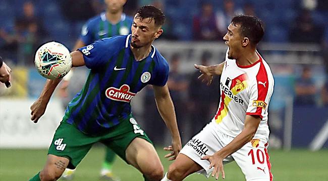 Çaykur Rizespor ile Göztepe golsüz berabere kaldı