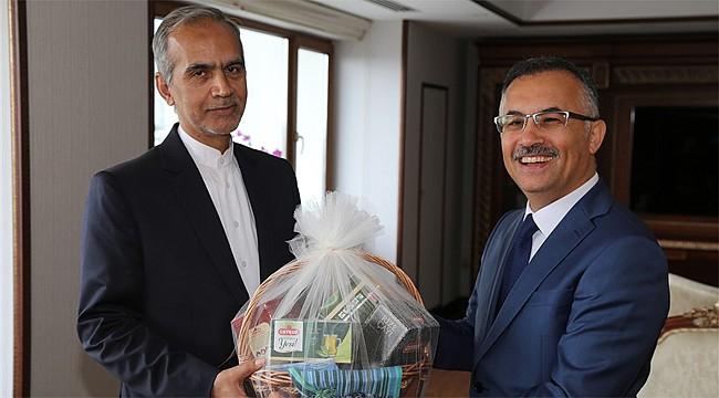 İran'ın Trabzon Başkonsolosu Rize'de