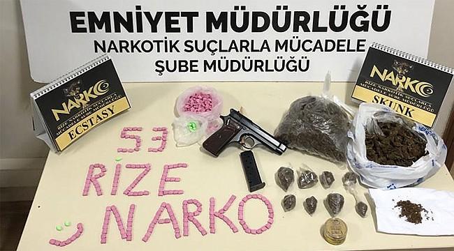 Kalkandere'de uyuşturucu operasyonu: 1 kişi tutuklandı