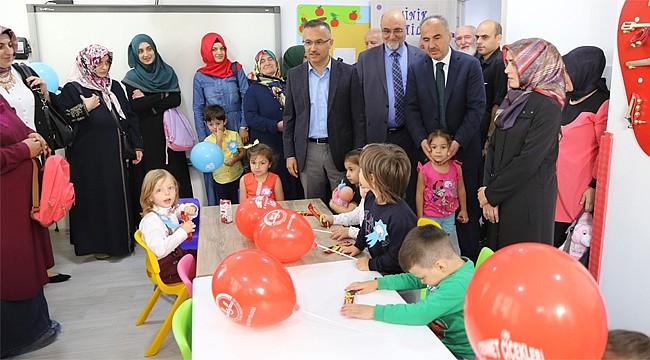 Rize'de 4-6 yaş çocuklar için Kur'an Kursu açıldı