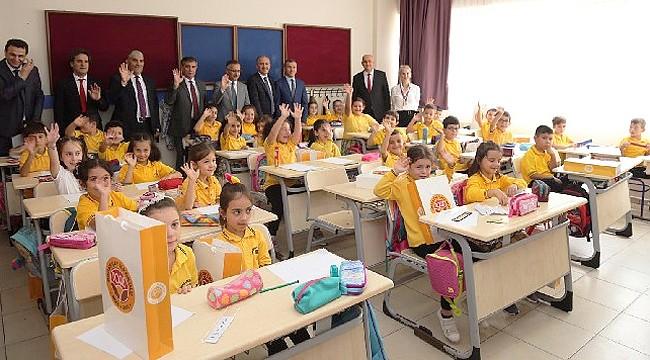 Rize'de 64 bin 846 öğrenci için ders zili çaldı