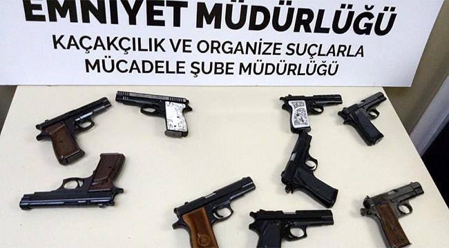Rize'de 9 kaçak silah yakalandı: 1 kişi tutuklandı