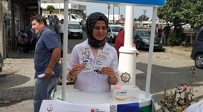 Rize'de Dünya Kalp Günü etkinlikleri