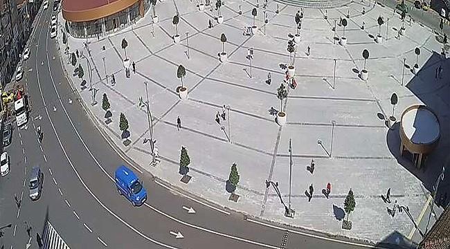 Rize'de şehir içi trafiğini düzenleme çalışmaları yapıldı
