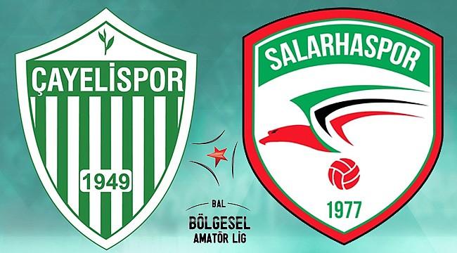 Rize derbisini Salarhaspor 6-1 kazandı