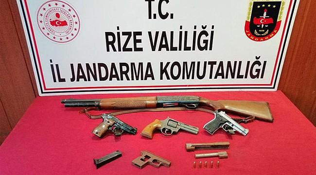 Rize Jandarması 10 günde 64 kişi yakaladı