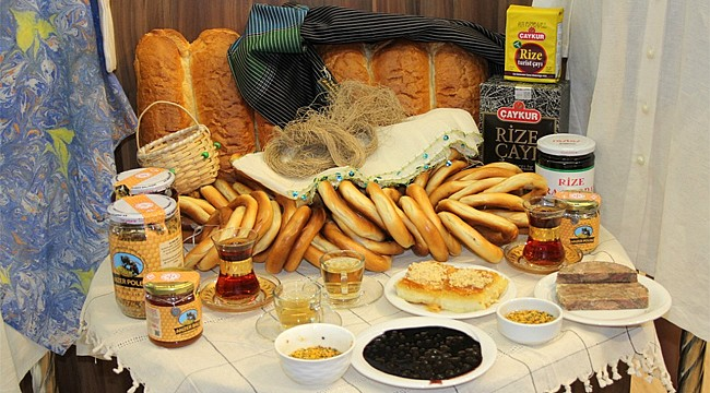 Rize'nin coğrafi ürünleri Ankara'da görücüye çıktı