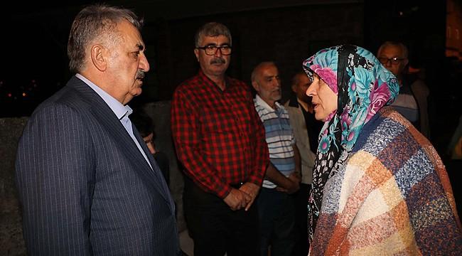 Yazıcı'dan Neslican Tay'ın ailesine taziye ziyareti