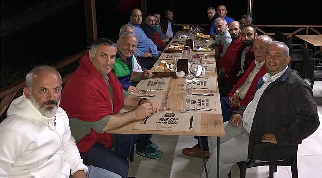 ASKF Rize Şubesi Yönetim Kurulu Tunca'da toplandı