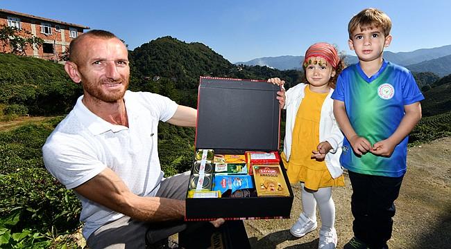 Çay üreticileri çektikleri fotoğraflarla yarıştı