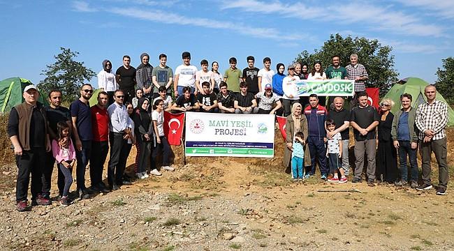 Çaydosk'tan gençler için 'Mavi Yeşil' projesi