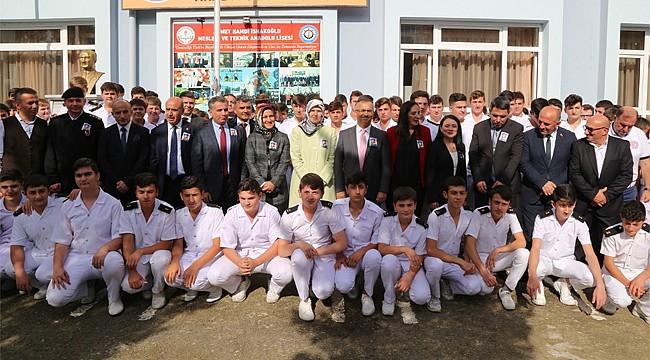 Çayeli'nde Şehit Doğan Dağcı Kütüphanesi açıldı