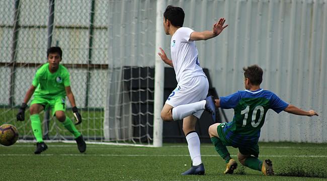 Çaykur Rizespor U14, üç puanı 3 golle aldı
