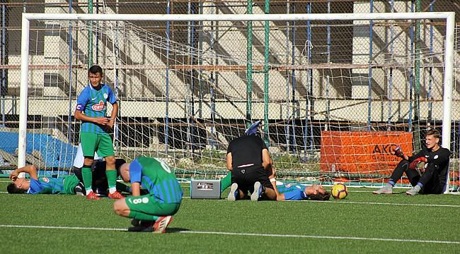 Çaykur Rizespor U17, Galatasaray'dan fark yedi: 1-5