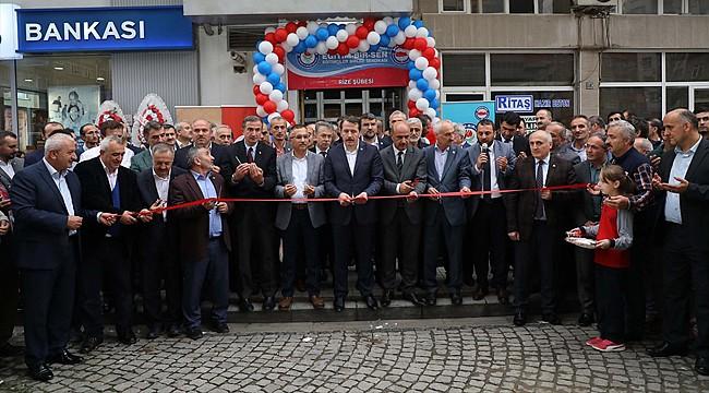 Eğitim-Birsen Rize il binası açıldı