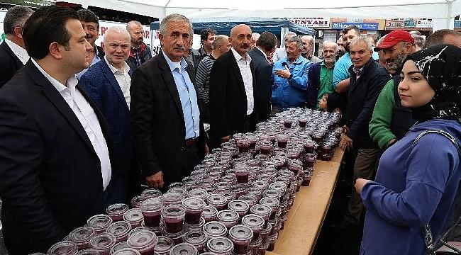Rize'de 6 bin ton siyah üzümden pepeçura yapıldı