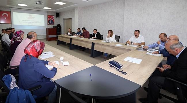 Rize'de TRSM İl Koordinasyon Kurulu toplandı