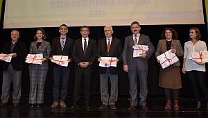 Beyaz Bayrak İşbirliği Protokolü Rize'de başladı