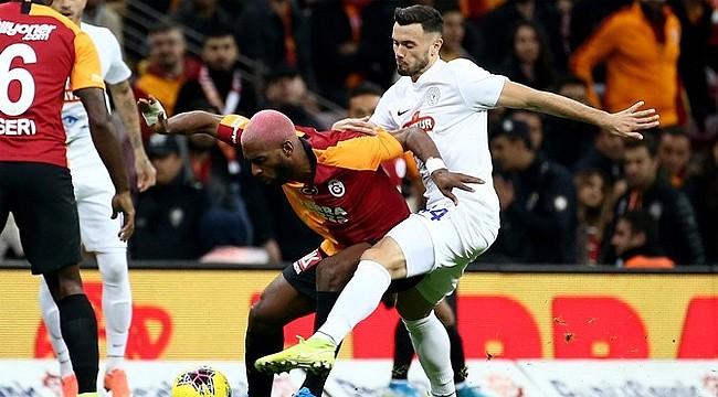 Çaykur Rizespor'dan Galatasaray'a 3 puan