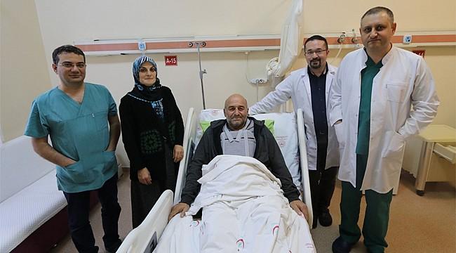 Ermenistan'da kalp kriz geçirdi, Rize'de sağlığına kavuştu