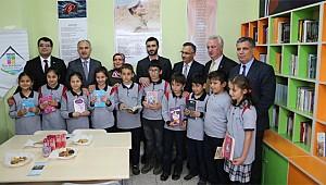 Kalkandere'de Şehit Mehmet Ali Yılmaz kütüphanesi açıldı