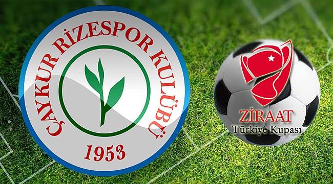 Kupa'da Çaykur Rizespor'un rakibi Samsunspor oldu