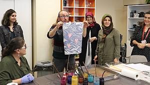 Rize'de hastalar Ebru Sanatıyla tedavi ediliyor