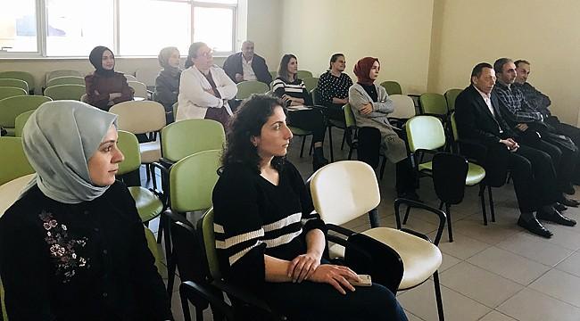Rize'deki sağlık personellerine Sıfır Atık Projesi eğitimi