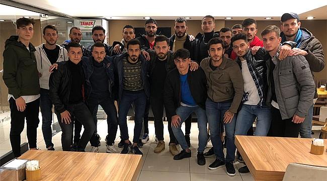 Salarhaspor'da futbolculardan antrenman protestosu